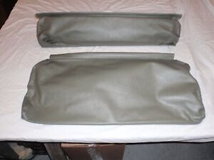 Willys Jeep Rear Seat Covers Olive Drab With Long Back For 4 Back And Bottom