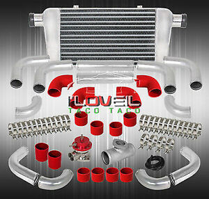 Jdm Vip Style Front Mount Intercooler Blow Off Valve Aluminum Straight Pipes