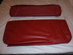 Willys Jeep Rear Seat Covers For Short Back Rear Seat Red Barcelona Cj2a 1945