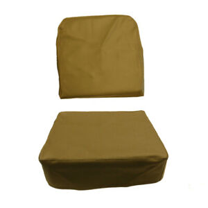 Willys Jeep Drivers Or Passenger Seat Covers Olive Drab 1949 1956 Cj3a Cj3b