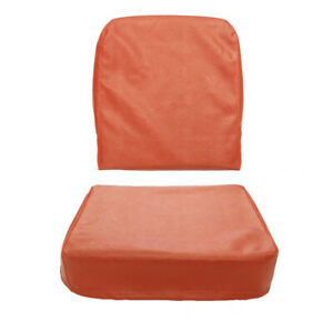 Willys Jeep Drivers Or Passenger Seat Covers Barcelona Red 1949 1956 Cj3a Cj3b