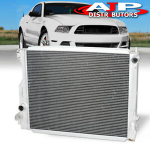 3 Row Aluminum Racing Engine Cooling Radiator For 2005 2014 Ford Mustang Gt Base