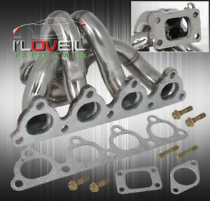Civic Integra D15 D16 T3 Turbo Ss Manifold With External Wastegate Flange Port