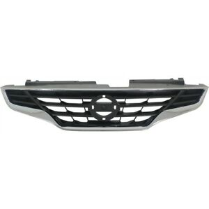 Grille 2010 2013 For Nissan Altima Coupe Chrome And Black 2 Door Coupe