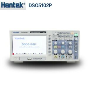 Hantek Dso5102p Usb Digital Storage Oscilloscope 2channels 100mhz 1gsa s Lcd