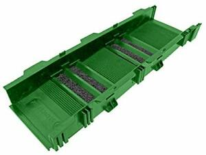 Sluice Fox Modular Sluice Box System For Gold Panning sluice Box Only green