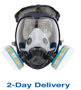 Complete Respirators Suit Trudsafe 6800 Painting Spraying Full Face Gas Chemical