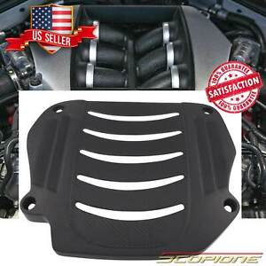 Scopione Matte Carbon Fiber Engine Cover Replacement For Nissan 09 19 Gtr R35