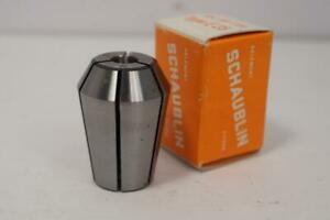 New Schaublin E 25 7mm Collet For Emco Maximat Mill Or Lathe Swiss Made