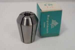 New Regofix E 25 7 5mm Collet For Emco Maximat Lathe Or Mill Swiss Made