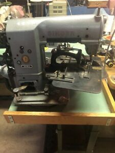 Singer 269w26 Bar Tacker Adjustable Industrial Sewing Machine