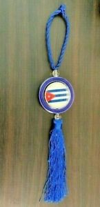 Cuba Flag Car Rear View Mirror Hanging Decoration Car Pendant Auto Accessories