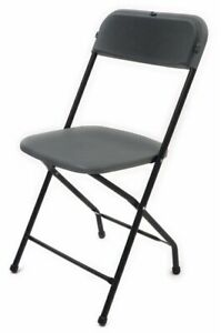 Folding Chairs New 10 Pack
