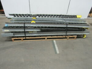 Interroll 4 1 2 X 10 Staggered Pallet Flow Track Stop Separators Lot 11