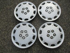 1996 To 2000 Plymouth Breeze 14 Inch Factory Hubcaps Wheel Covers Beater Set