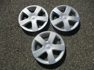 Lot Of 3 Factory 2004 2005 Mitsubishi Lancer 15 Inch Hubcaps Wheel Covers