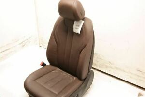 Brown Driver Left Front Leather Bucket Seat Electric Fits 14 17 Bmw X5 F15 Oem