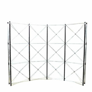 Nomadic Instand Dl31135n Curved 10 w X 7 9 h Pop up Display Frame W Stabilizers