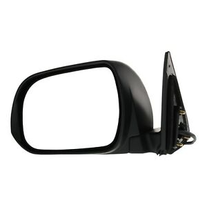 Power Mirror For 2008 2013 Toyota Highlander Driver Side Heated Paintable
