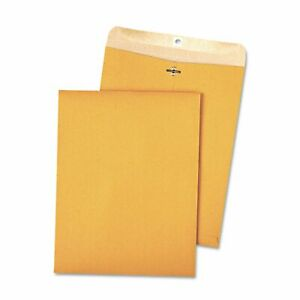Quality Park 100 percent Recycled Brown Kraft Clasp Envelope 9 X 12 Brown Kraft