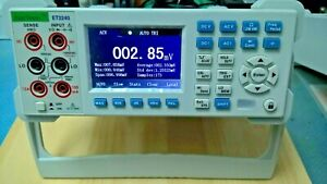 New 4 1 2 Digit Bench Multimeter 2 4wire Precise Resistance