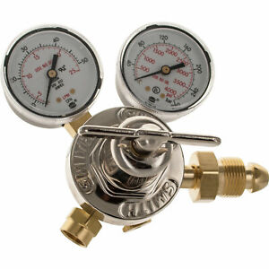 Miller Smith 31 50 580 Argon Co2 Mix Single Stage Flow Gauge Regulator Cga 580