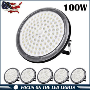 6 X 100w Ufo High Power Led High Bay Light Warehouse Industry Factory Shop Lamp