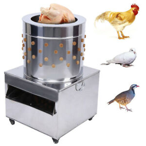 Stainless Steel Poultry Plucker Chickens Machine Feather Birds Plucking 50 model