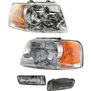 New Auto Light Kit Driver Passenger Side Lh Rh For Ford Expedition 2004 2006