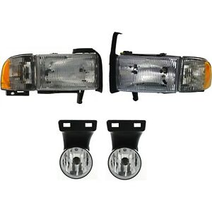 Auto Light Kit For 1999 2001 Dodge Ram 1500 Driver And Passenger Side
