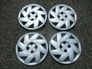 Genuine 1993 To 2002 Toyota Corolla 14 Inch Hubcaps Sport Wheel Covers Beaters