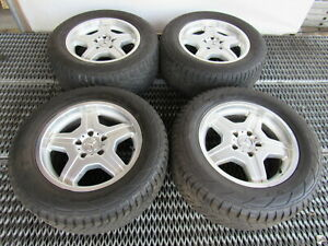 04 Mercedes W463 G55 G500 Wheels And Tires 18 Rims Set 4 4634011302 Amg