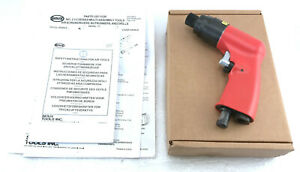 New Sioux Tools Inc 2p2307 1 4 Pneumatic Hex Screwdriver Red Black