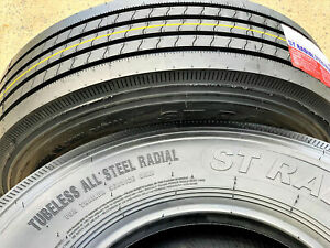 2 New Transeagle All Steel St Radial St 235 80r16 Load G 14 Ply Trailer Tires