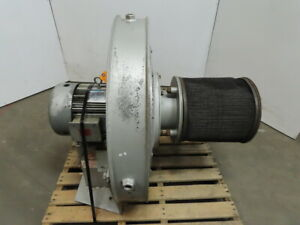 North American 2320 35 1 t100 7 5hp Blower 1000cfm 1842 Rpm 208 230 460v 3ph