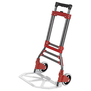 Ferty Aluminum Folding Two wheel Hand Truck cart dollies Bearing 165 Lbs With