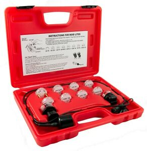 Deluxe Noid Light Set 11pc Electronic Fuel Injection Test Light Cable Case