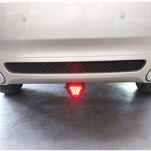 Universal Bright F1 Style 12led Red Rear Tail Third Brake Stop Safety Lamp Light