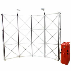 Nomadic Showmate Dl31135n Pop up 10 W X 7 9 H Display Stand W Case