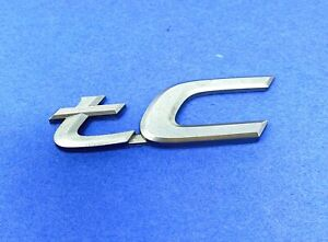 05 06 07 08 09 10 Scion Tc Rear Lid Trunk Emblem Logo Badge Sign Symbol Oem