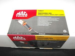 Mac Tools Tlf98217 Professional Angle Work Light 36 Watt 25ft Cord 120volt Drop