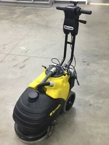 Used Tornado Battery Operated Walk behind Floor Scrubber 5 Available Good Cond