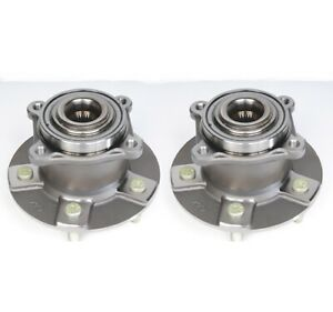 Pair Set Of 2 Rear Awd Wheel Bearings Hubs Acdelco For Chevy Equinox Saturn Vue