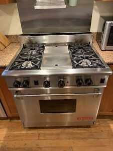 Beautiful Limited Release Vulcan Estates 36 4 burner With Griddle Gas Range