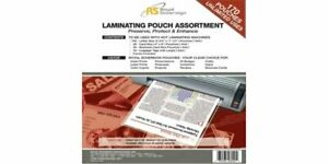 Royal Sovereign Asst Laminating Pouches 170 Pk
