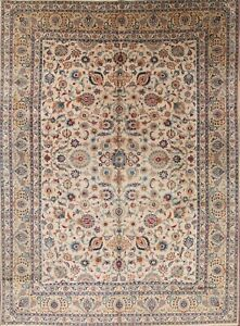 Antique All Over Floral Vegetable Dye Persian Area Rug Oriental La