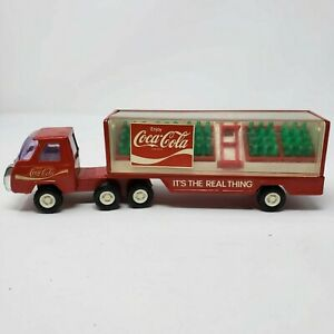 Vintage Buddy L Coca-Cola Semi Truck with Bottles - 1:43rd Scale