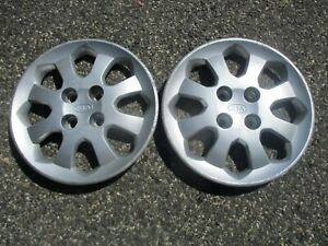 Lot Of 2 2003 2004 2005 Kia Rio 14 Inch Bolt On Hubcaps Wheel Covers