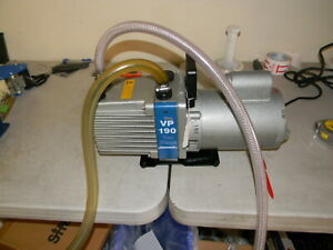 Savant Vp 190 High Vacuum Pump Franklin Electric Motor Hose W Vacuum Shutoff