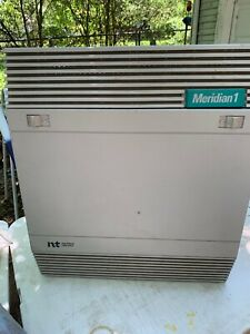 Nortel Meridian 1 Telephone System Cabinet Nt8d02ab Nt8do9a Nt6r16aa Nt8do3ab
